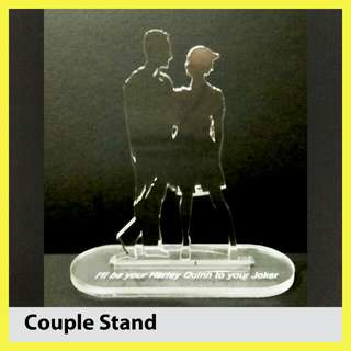 Valentine Gift ( Couple Silhouette Stand )