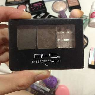 BYS eyebrow powder