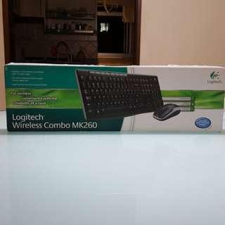 Logitech Wireless Combo MK260