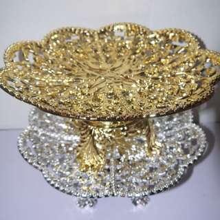 Gold Dulang Hantaran Wedding Tray 8x