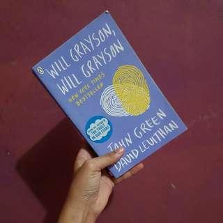 Will Grayson, Will Grayson (English Novel)
