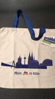 🚚 德國知名藥妝店dm購物袋(科隆限定版)