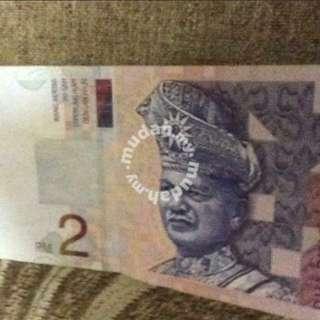Rm2 duit lama.