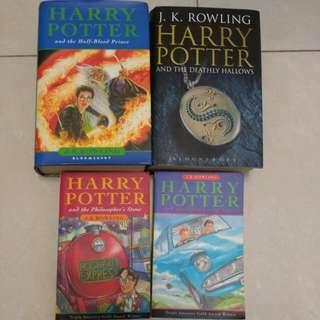 harry potter 4冊