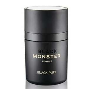 Black Monster Puff 頭髮稀疏救星 全新啡色頭皮蜜粉