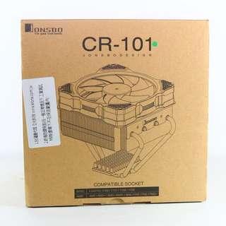 喬思伯 Jonsbo CR-101 下吹式 CPU散熱器 綠色