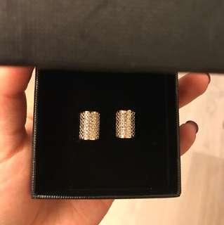 Vita Fede Rose gold earrings