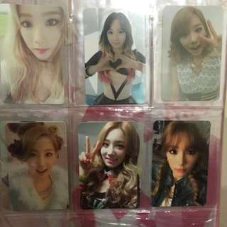 Girls Generation Taeyeon Photocard