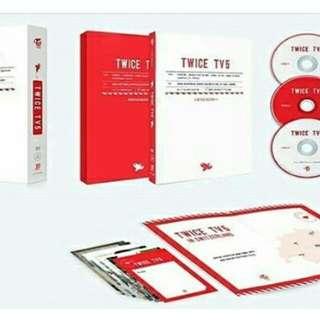 [GROUP ORDER] TWICE TV 5 - TWICE IN SWITZERLAND DVD