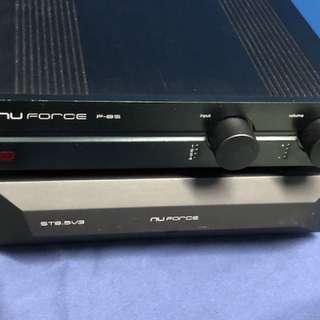 Nuforce P8S pre-amp + ST 8.5 V3 Stereo Amp