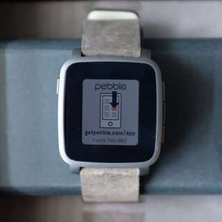 Pebble Time Steel (Gun Metal)