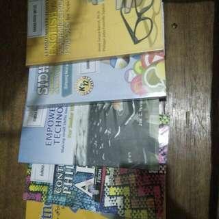 GRADE 11 HUMSS BOOKS