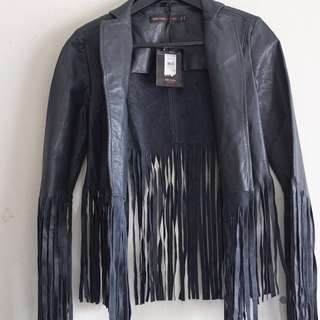 Leather Jacket Kate Moss x Topshop