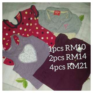 Mix T-shirts (FREE postage for SM)