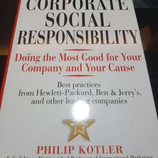 Kotler lee - Corporate Social Responsibility