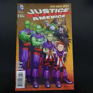 N52 Justice League of America #3 MAD Variant