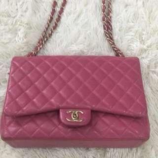 Chanel double flap maxi