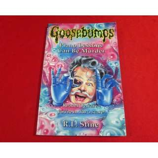 Goosebumps # 12: Piano Lessons Can Be Murder by R. L. Stine