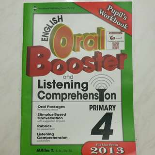 p4 english oral booster and listening comprehension