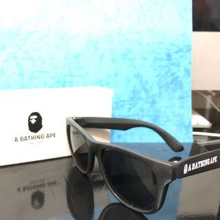 Brand new 全新 A bathing ape 猿人太陽眼鏡 sun glasses