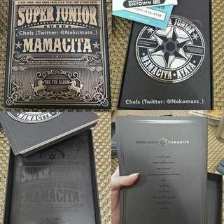 Super Junior MAMACITA Album (Type A)