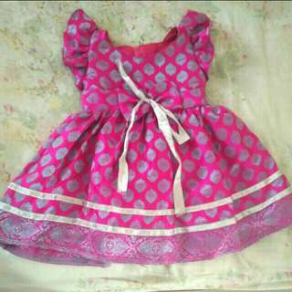 Dress pink fushia