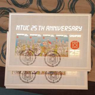 NTUC 25th anniversary. 1986.