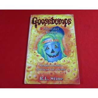 Goosebumps #5: Monster Blood by R. L. Stine