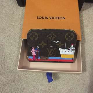 Louis Vuitton transatlantic zippy coin purse