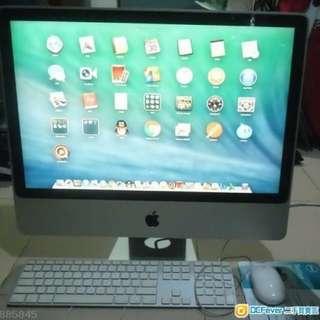 $1699 iMac 20吋  100%work 90%new 2009年 320G 4Gram Core2Due 有鍵盤 電源線 電話☎️65881494