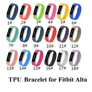 Fitbit Alta - Silicon Straps (Only straps)