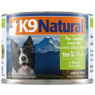 K9 Natural Lamb Green Tripe Canned Dog Food
