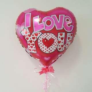 """18"""" Happy Valentines Heart Set"""