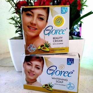 GOREE WHITENING SOAP/CREAM