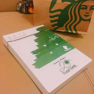 DISCOUNTED🙀🙀2018 Starbucks Planner (Large)