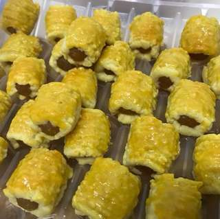 100% homemade Pineapple Tarts