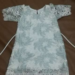 Baby fashionista lace dress - 12 to 18 months brandnew with tags