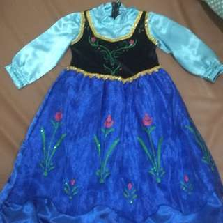 Frozen costume - anna size 2 yrs old