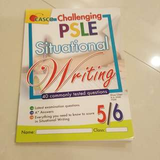 P5 P6 Assessment Book - psle situational writing