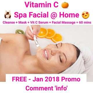 FREE Facial @ Your Home