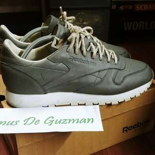 Reebok Classic Leather Gray ECO