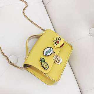 Cartoon Pin  Kids Mini Bag