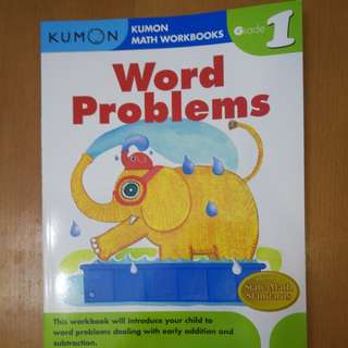 Kumon Word Problem Grade 1