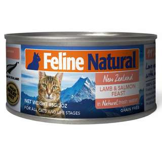 K9 Feline Natural Canned Lamb & Salmon 170gm x 24 cans