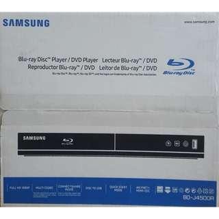BRAND NEW Samsung Blu-ray Disc Player / DVD Player BD-J4500R
