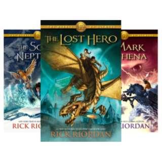 Heroes of Olympus (5 Book Series) BY Rick Riordan