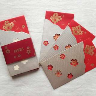 RBS Auspicious Gold & Red Packet/ Ang Pao