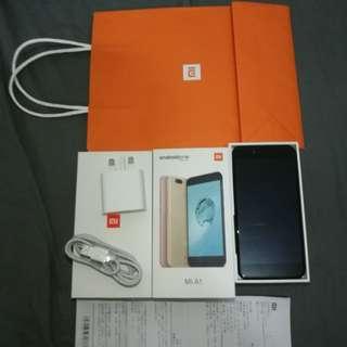 小米 Xiaomi Mi A1 64GB黑色九成新