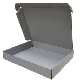 Grey Color Plain Boxes A4 Size 310 x 250 x 50mm for nice gift packing