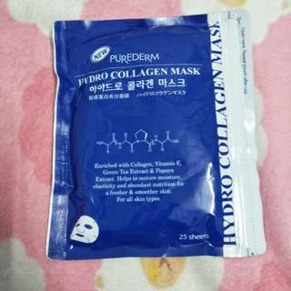 Purederm hydro collagen mask 25pcs